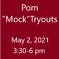 Pom Mock Tryouts 5/2
