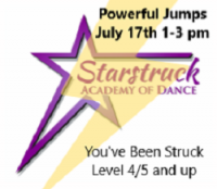 You've Been Struck Workshop - Powerful Jumps Level 4/5 and up