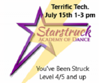 You've Been Struck Workshop - Terrific Technique Level 4/5 and up