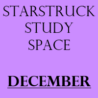 Starstruck Study Space - December